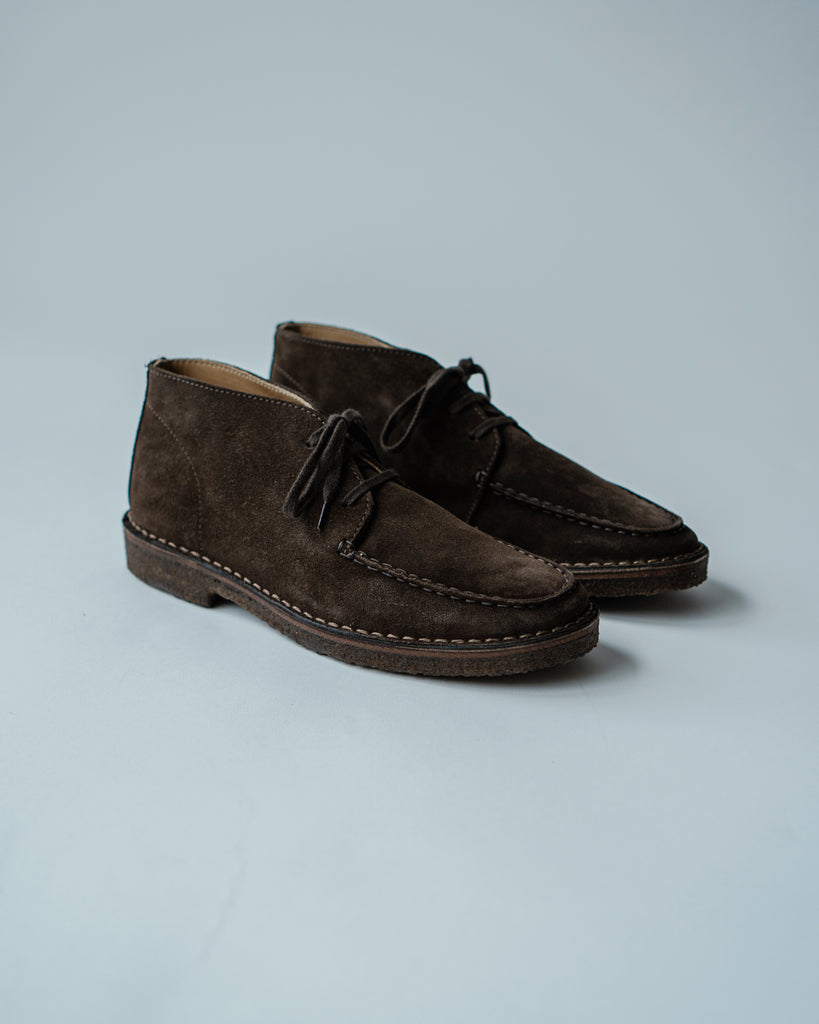 Mocassin Suede Shoes- Crosby Shoes, Drake's - The Signet Store