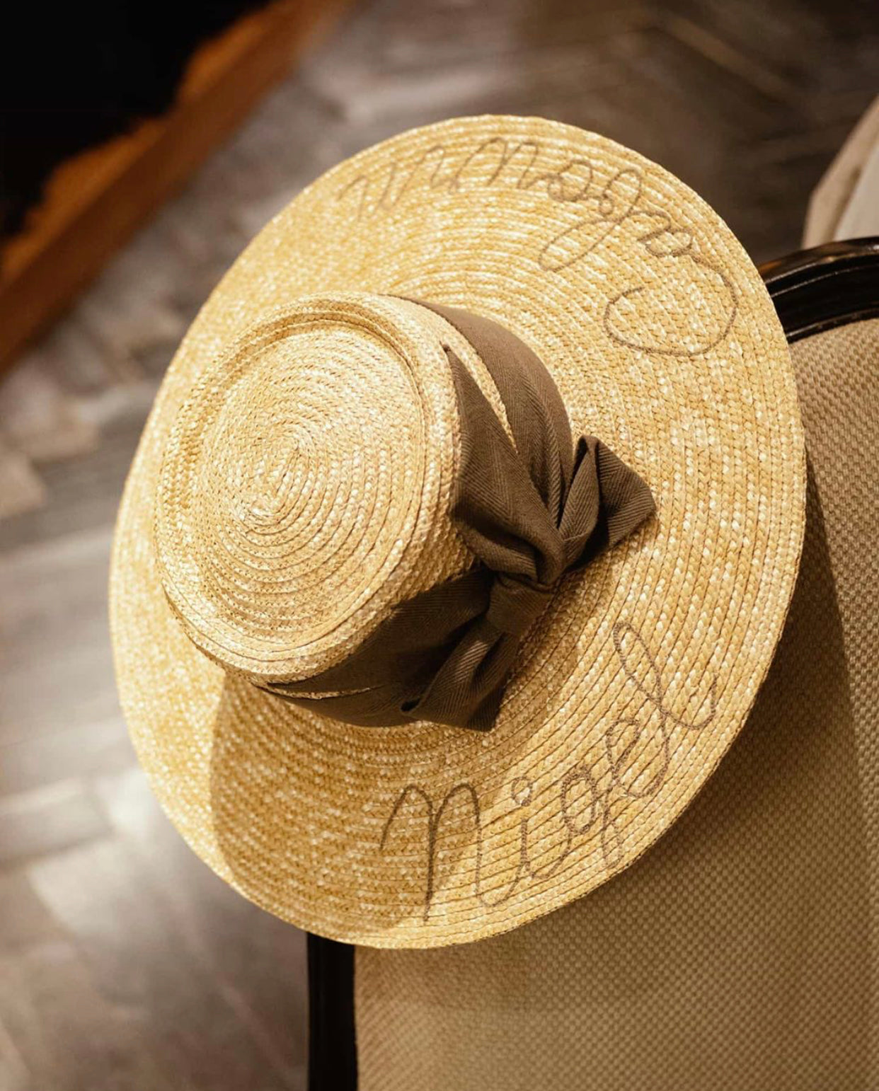 Straw Hat, Nigel Cabourn - The Signet Store
