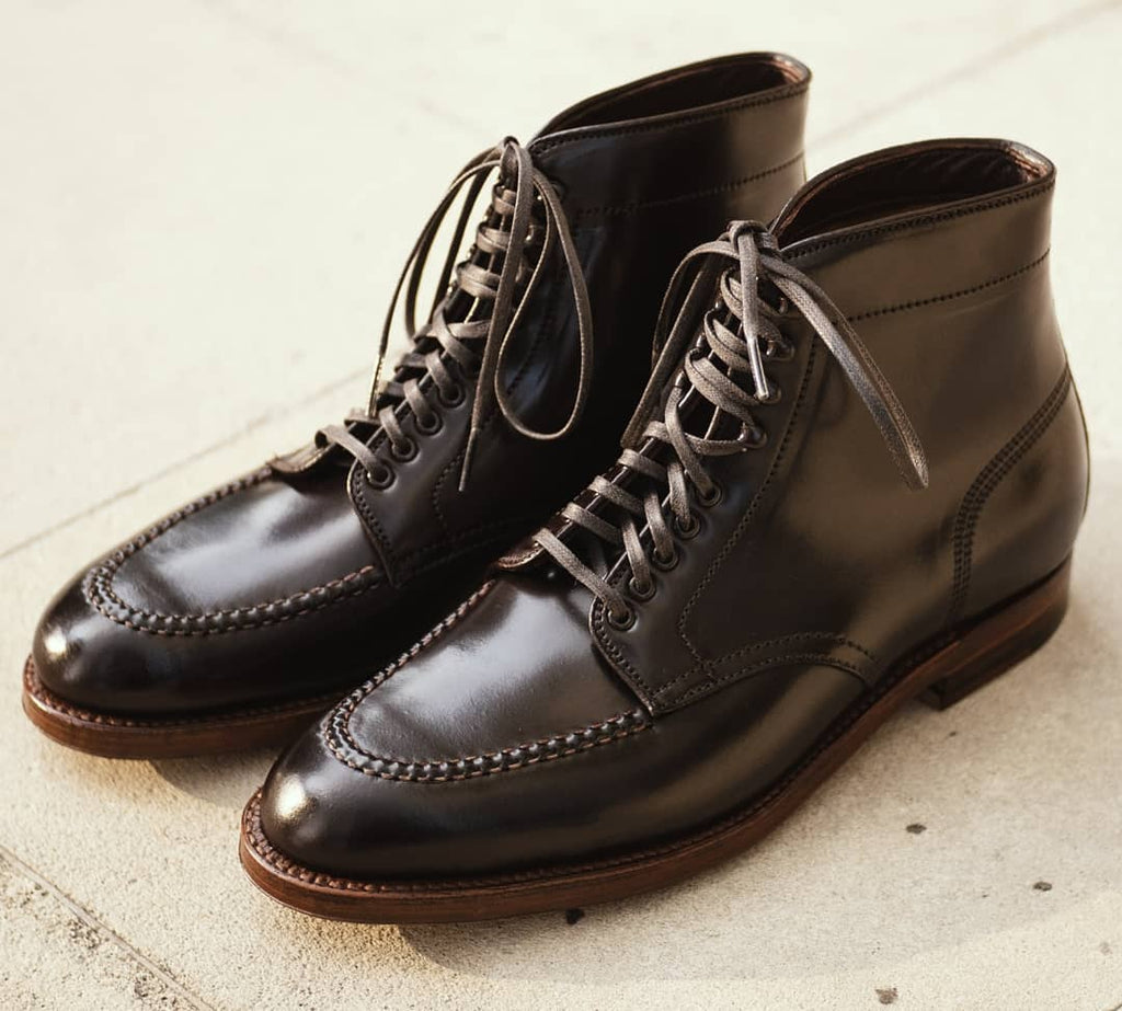 "Alden + Signet | ""The German"" Cordovan U-Tip Boot A9906HC, Alden - The Signet Store"