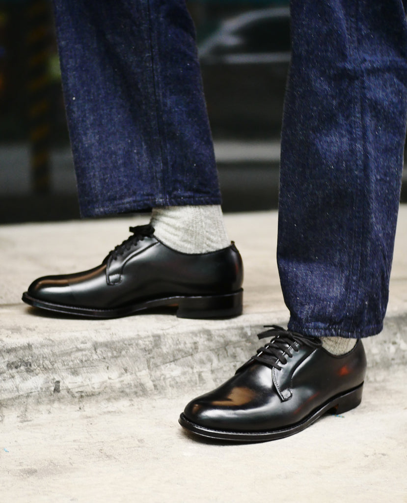 "Alden + Signet | ""The Navy Shoe"" Cordovan Plain Toe A9402, Alden - The Signet Store"