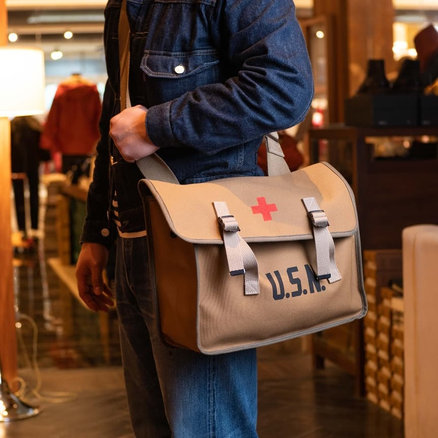 USN Medic Bag | MA13102, The Real McCoy's - The Signet Store