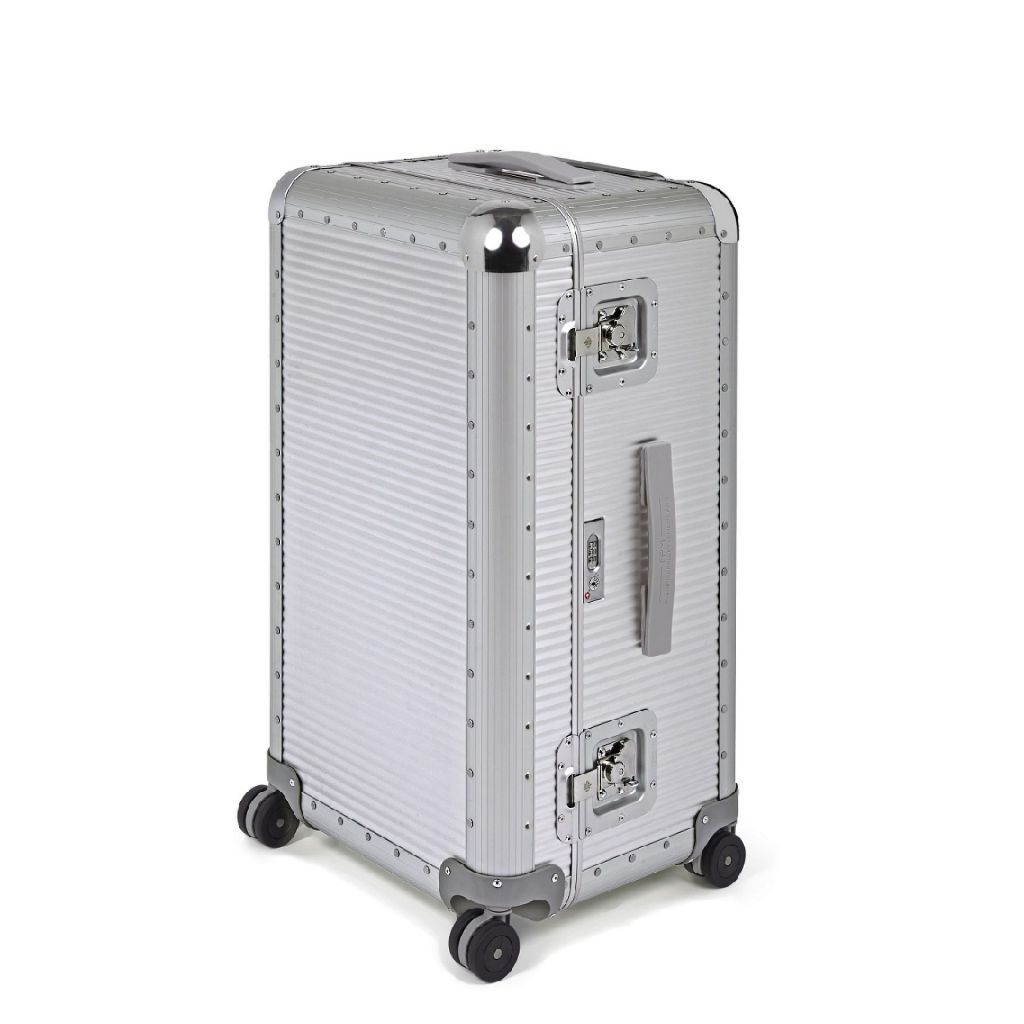 Bank S Trunk on Wheels | Aluminum, FPM Milano - The Signet Store