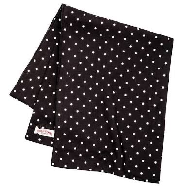 Rayon Polka Dot Scarf | MA19014, The Real McCoy's - The Signet Store