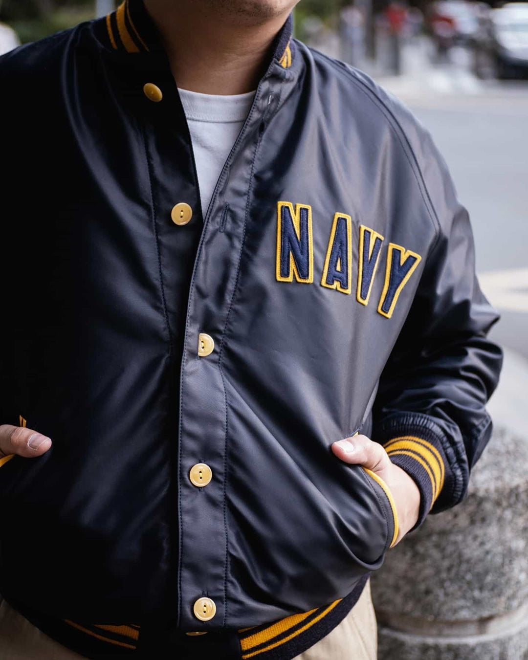 Military Athletic Jacket | MJ19009, The Real McCoy's - The Signet Store