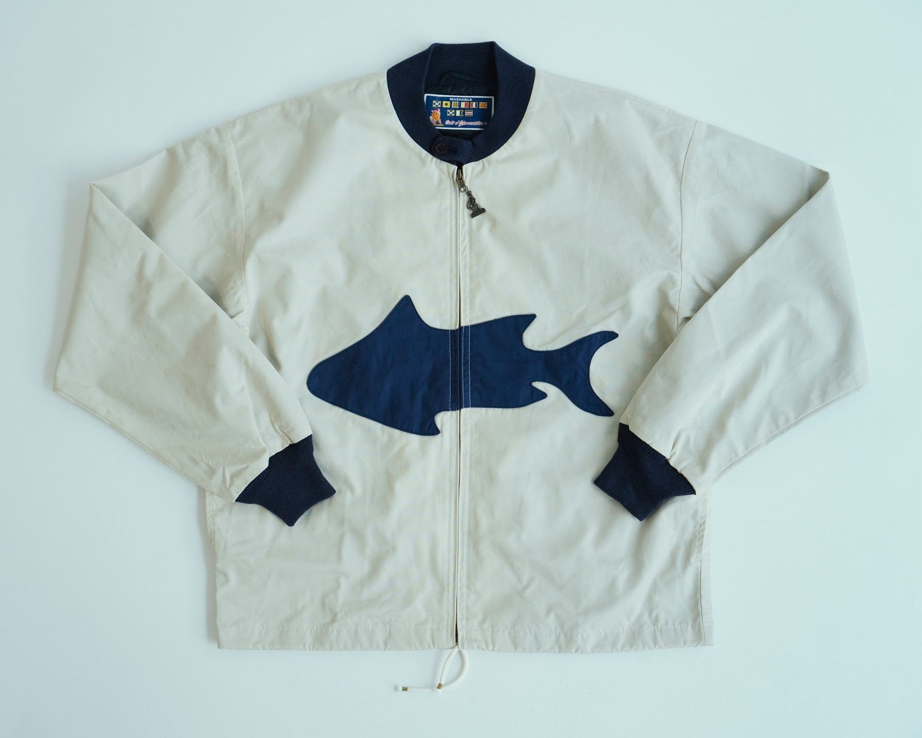 Mighty Mac x Anatomica Boat Jacket Fish, Anatomica - The Signet Store