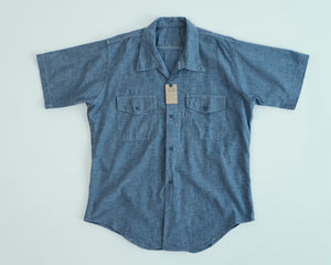 Open image in slideshow, Big Yank x Anatomica Chambray S/S 600-201-34, Anatomica - The Signet Store