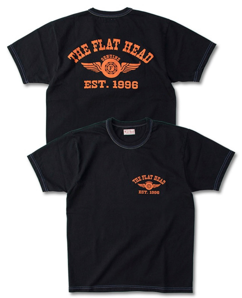 Flying Wheel Logo Shirt | THC - 170, The Flat Head - The Signet Store