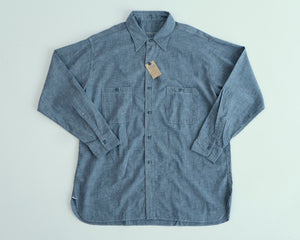 Open image in slideshow, Big Yank x Anatomica Chambray L/S  600-201-32, Anatomica - The Signet Store