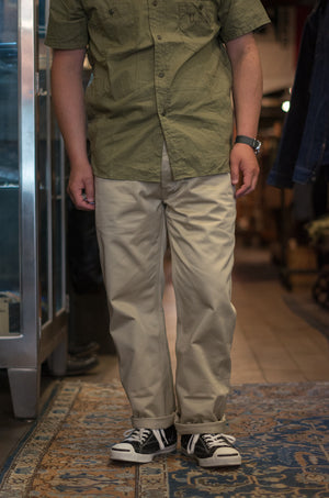 Open image in slideshow, Blue Seal Chino Trousers | MP19010, The Real McCoy's - The Signet Store