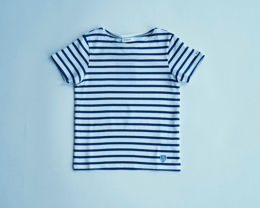 Kids Knit 40/2 Stripe T-Shirt | RC9229, Orcival - The Signet Store