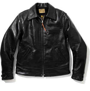 Open image in slideshow, 30s Leather Sports Jacket- Nelson | MJ19115