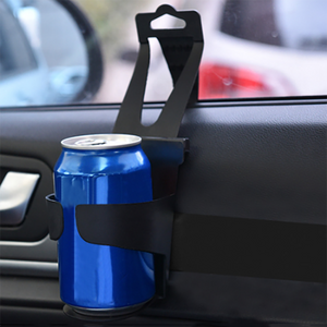 Universal Door Seat Clip Mount Cup Holder