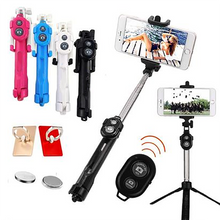 Load image into Gallery viewer, (50% OFF) Bluetooth Remote Tripod Selfie Stick