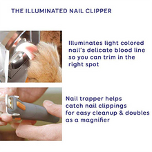 Load image into Gallery viewer, (50% OFF TODAY) LED Light Pet Nail Clipper