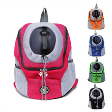 Load image into Gallery viewer, Outdoor Pet Dog Portable Travel Backpack
