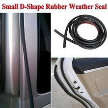 Load image into Gallery viewer, Car Door Seal Strips Sticker D Shape Weatherstrip