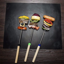 Load image into Gallery viewer, Non-stick BBQ Grill Mat Cooking Grilling Sheet