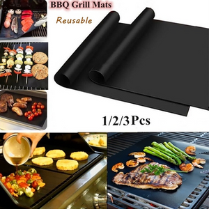 Non-stick BBQ Grill Mat Cooking Grilling Sheet