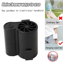 Load image into Gallery viewer, Mini Portable Hanging Waist Fan