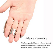 Load image into Gallery viewer, Stainless Finger Protector