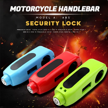 Load image into Gallery viewer, Motorcycle Handlebar Security Lock