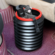 Load image into Gallery viewer, Car Folding Barrel Trash Can