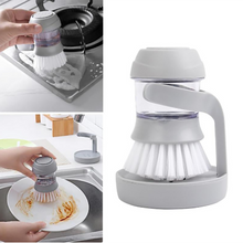 Load image into Gallery viewer, Kitchen Washing Liquid Dish Brush Washing Brush