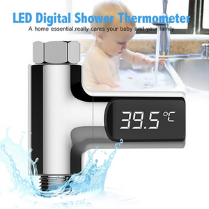 Bathroom LED Water Temperature Monitor Accessories