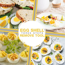 Load image into Gallery viewer, Superior Egg Stractor Peels Hard Boiled Eggs Instantly