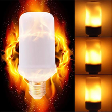 Load image into Gallery viewer, LED Flame Effect Light Bulb 4 Modes Flickering Bulb