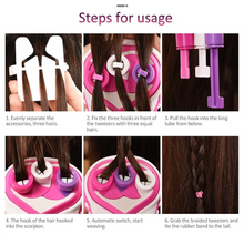 Load image into Gallery viewer, DIY Hair Knitting Machine Braid Hair Tools
