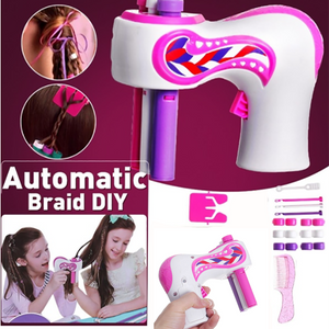 DIY Hair Knitting Machine Braid Hair Tools