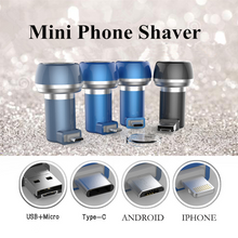 Load image into Gallery viewer, Mobile Phone Shaver Razor