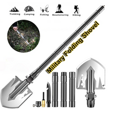 Load image into Gallery viewer, 76cm Outdoor Military Tactical Camping Shovel