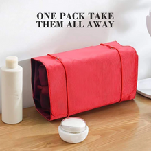 Load image into Gallery viewer, Portable Folding Travel Toiletry Bag