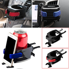 Load image into Gallery viewer, 2 in1 Car Air Vent Drink Cup Holder