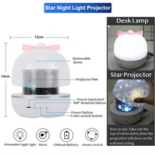 Load image into Gallery viewer, LED Projector Night Light