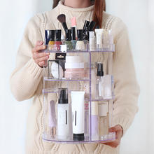 Load image into Gallery viewer, 360 Degree Rotating Cosmetic Organizer Box