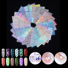 Load image into Gallery viewer, 48 Sheets Nail Art Hollow Laser Sticker