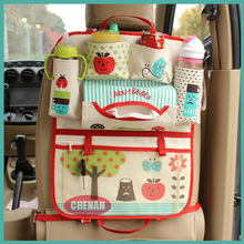 Load image into Gallery viewer, Cartoon Car Seat Back Organizer