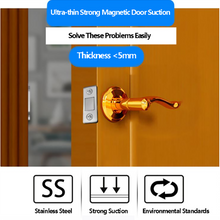 Load image into Gallery viewer, Punch-free Magnetic Door Closer