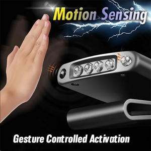 Body Motiom Sensor Clip-on Headlamp