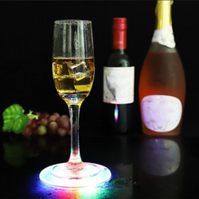Load image into Gallery viewer, LED Light Up Drinking Coasters