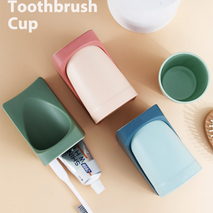 Magnetic Punch-Free Toothbrush Holder