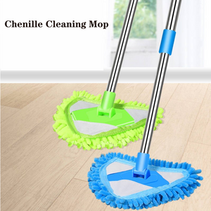 Telescopic Rod Chenille Cleaning Mop