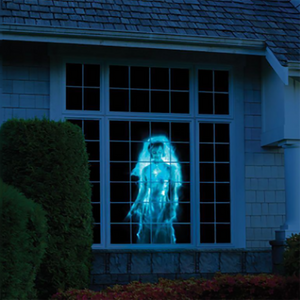 Christmas Halloween Holographic Projector