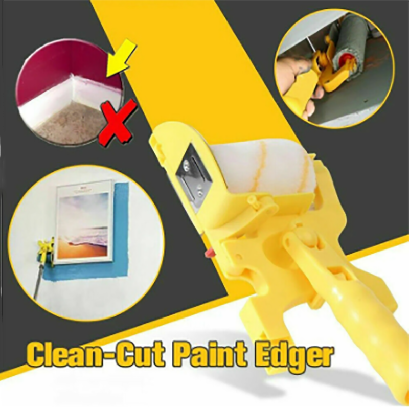 Paint Edger Roller DIY Paint Brush