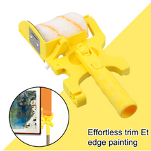Load image into Gallery viewer, Paint Edger Roller DIY Paint Brush