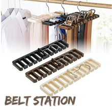 Load image into Gallery viewer, Tie Belt Organizer Rotating Hanger