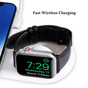 2in1 Fast Wireless Charging Pad